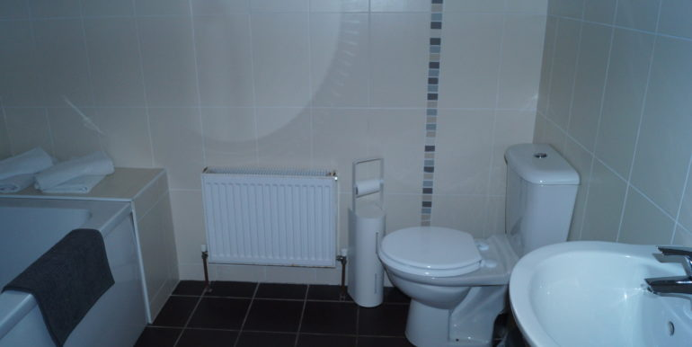 Frank Car - No. 6 Ground floor bathroom.