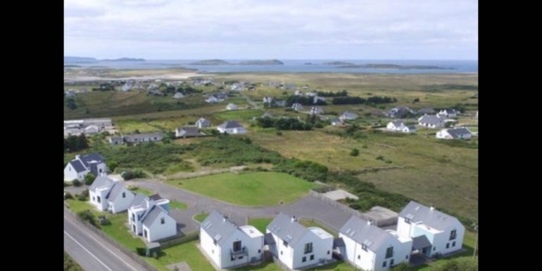 Frank Carr Port Arthur aerial view of house and sea no 6