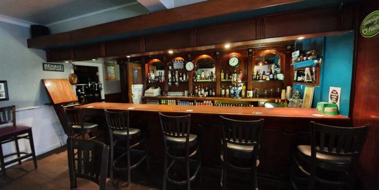 Petes Pub bar area 2020.