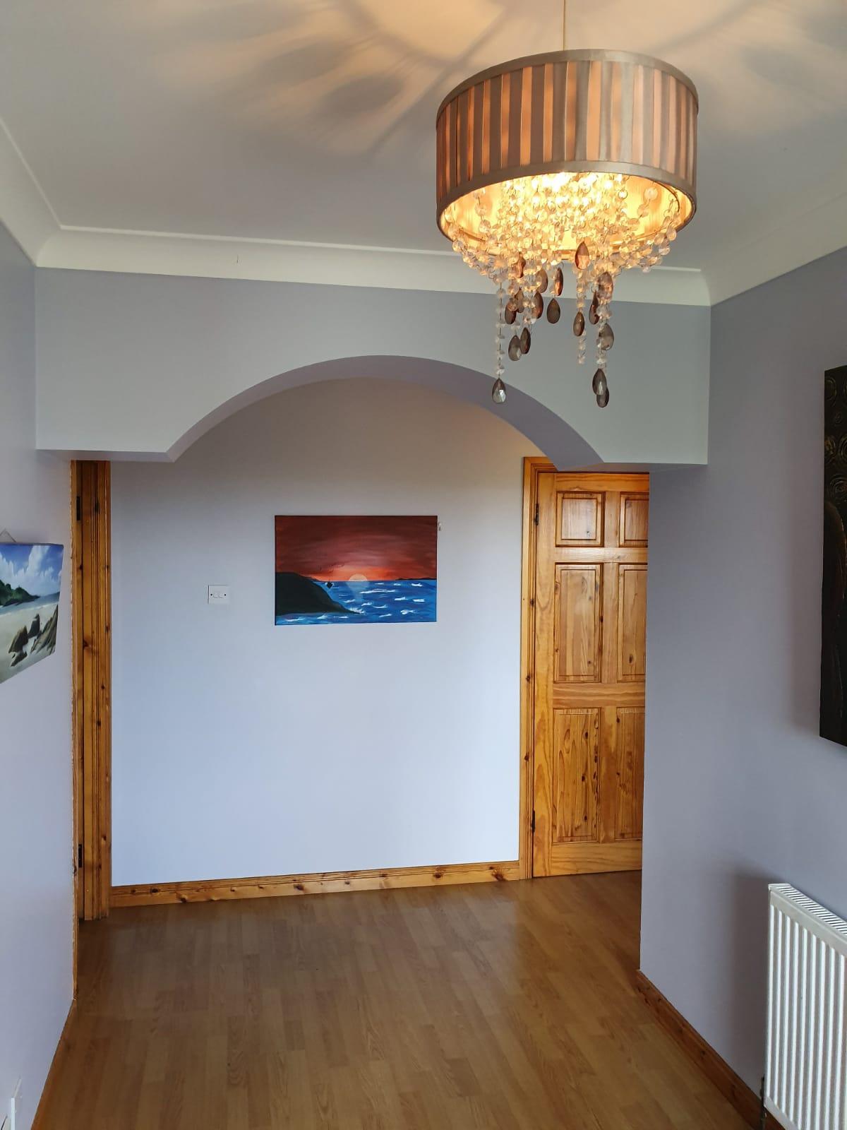 Mullis - Hallway archway