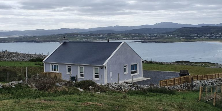 W Alcorn - House & View of Dunfanachy - June 2020