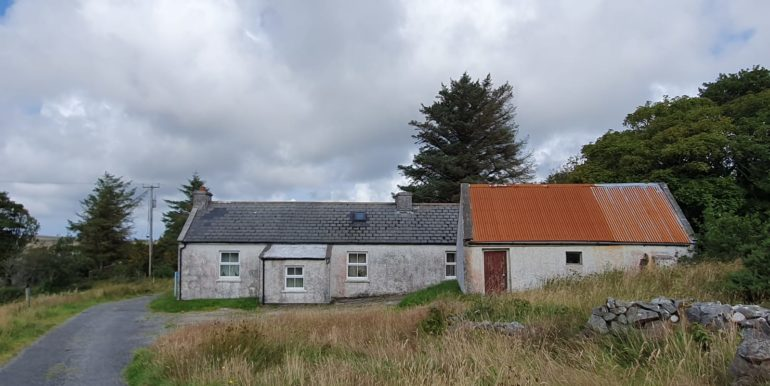 Crohyboyle - Cottage and sheds.