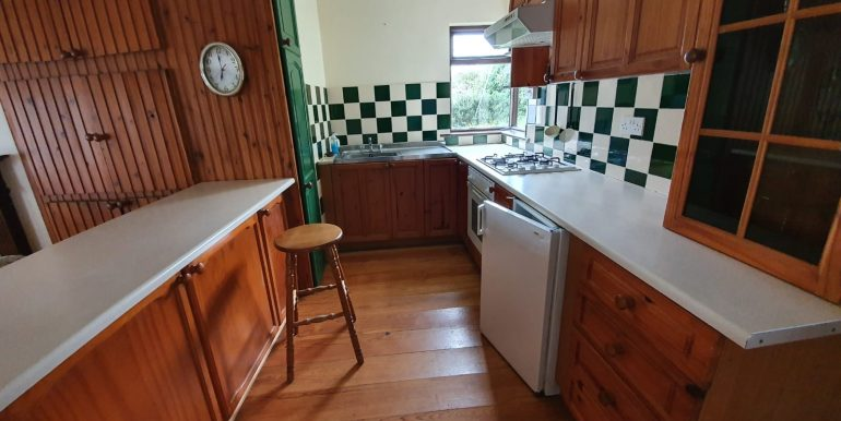 Angela Boyle - Kitchen with fitted units.