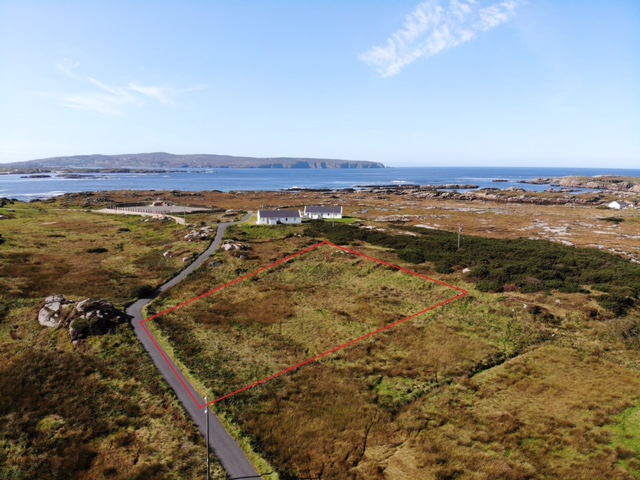 SITE FOR SALE ON CRUIT ISLAND, KINCASSLAGH, CO. DONEGAL.