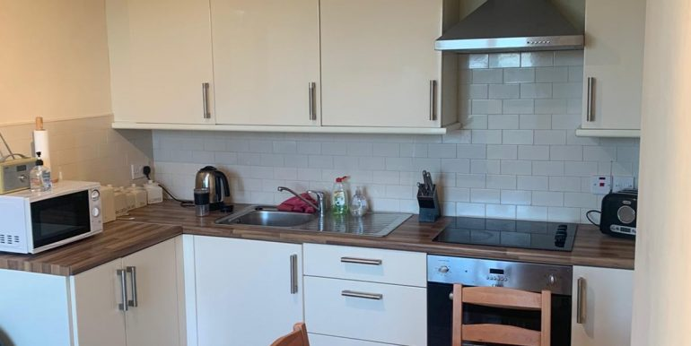 Sharon Harley - Kitchen area with fitted units.