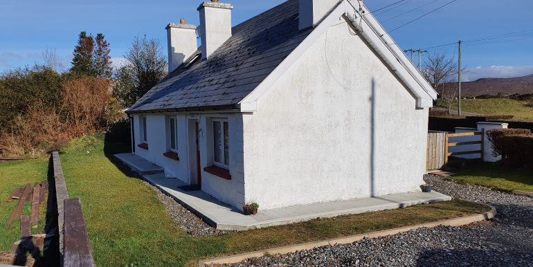 Paddy Mc Bride Lower Dore cottage southern gable