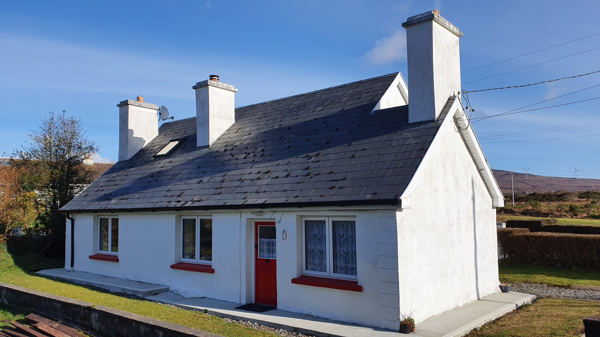 Traditional House – Dore Lower, Bunbeg, Co. Donegal.