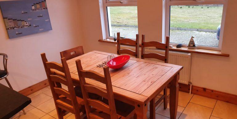 Brian Dunagan - Kitchen table.