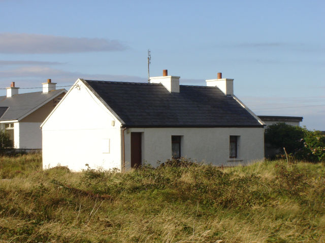 """An Leac""  Knockastoller"", Bunbeg – A Donegal Traditional Cottage."