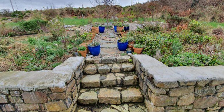 Liz & Jim R. garden steps