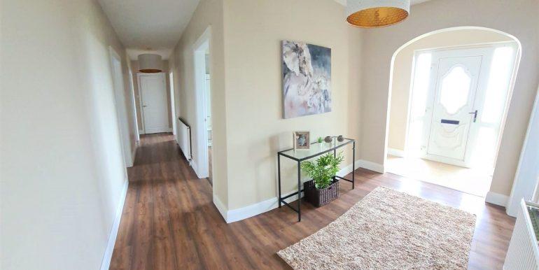 Ted Martin new - hallway. Brinaleck hallway Apr 2021
