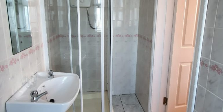Tony Mc Hugh Shower room.