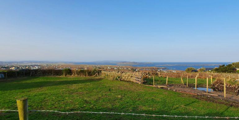 Tony Mc Hugh view of island.