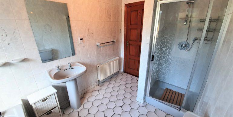 Joe Joyce bathroom May 2021