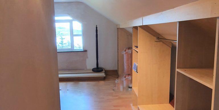 Joe Joyce the study shelved area first floor May 2021