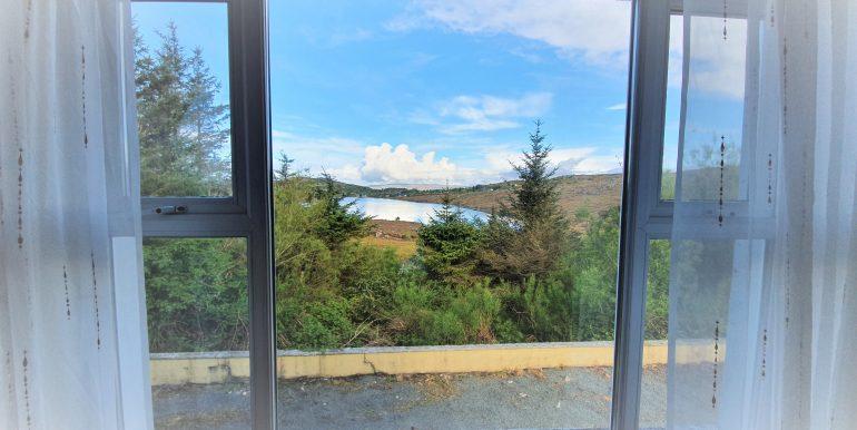 Joe Joyce view from sittiing room May 2021