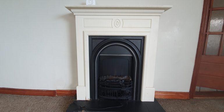 Joe Joyced fireplace spot fix May 2021