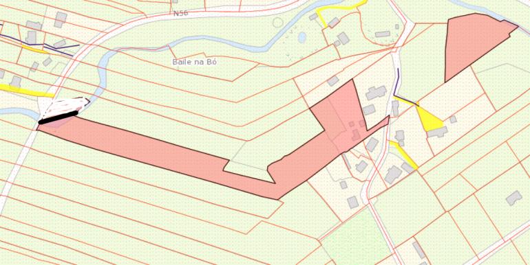 Catherine Mc Bride Ballyboes land map June 2021