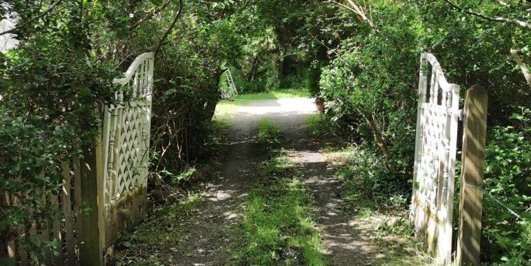Antje gated entrance at Keadue July 2021 (1)