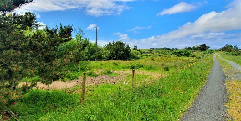 Antje road beside additional plot Jun 2021