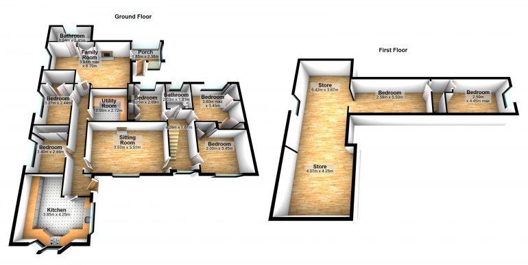 Mary Hughie Mc Garvey Floor plan Brinaleck