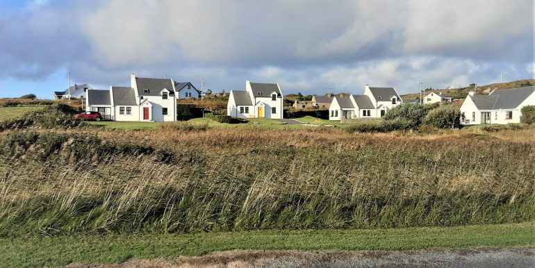 Sweetnam 1 view of 3 houses from road adj 2021