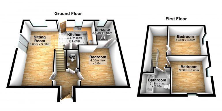 Sweetnam floor plan No 3 Belcruit BER